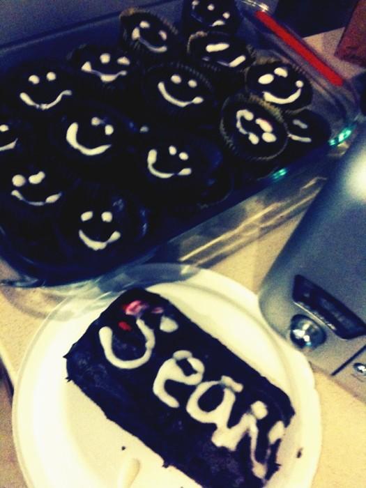 Happy Homemade cupcakes