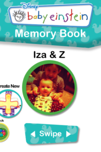 My Baby Einstein iPhone App - Memory Book Feature