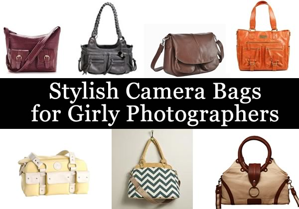 Cute Girly Camera Bags for Stylish Photographers