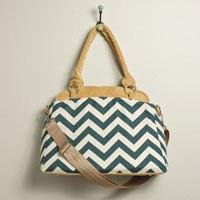 Chevron Camera Bag - Ketti Handbags
