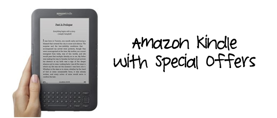 amazon kindle special offers