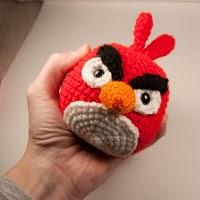 angry bird cardinal