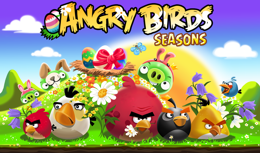 angry birds seasons easter edition