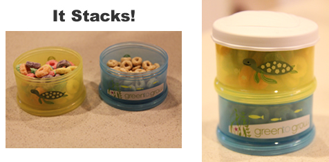 green to grow snack stacker