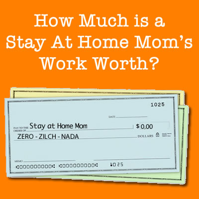 stay at home moms pay
