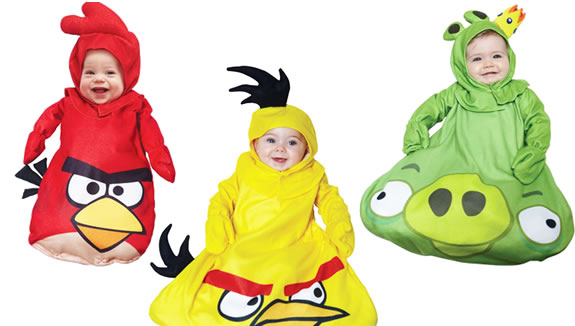 angry birds baby costumes
