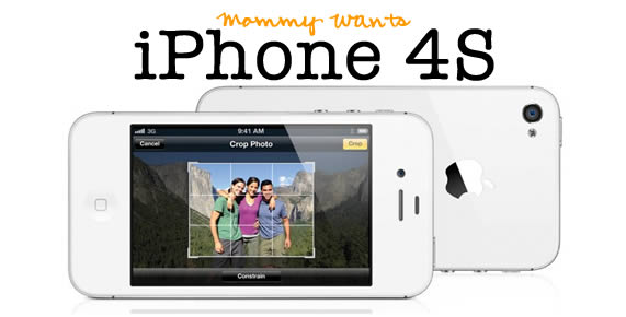 New iPhone – Mommy Wants!