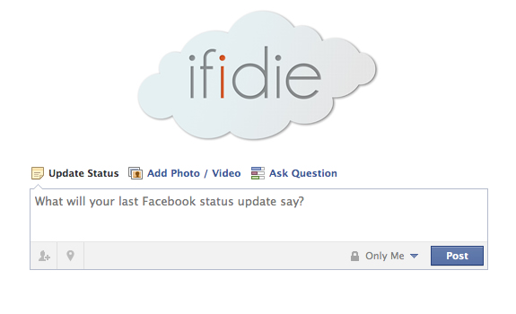 if i die facebook app