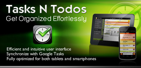 tasks n todos android app