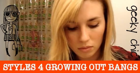 Hairstyles For Long Hair Growing Out Bangs : What To Do While Growing Out Bangs