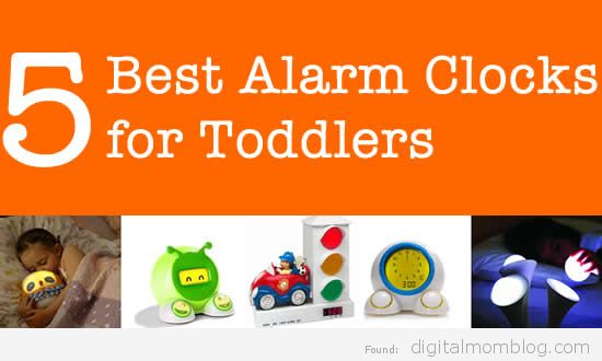 5 Best Alarm Clocks for Toddlers