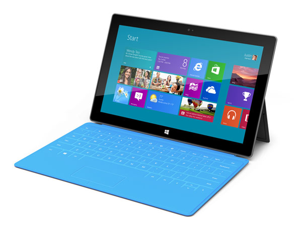 Microsoft Surface Tablet Launches to Rival Apple iPad