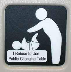 no public changing tables