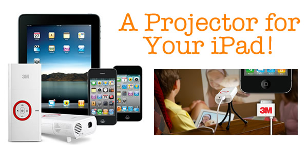 Tech for Kids: 3M Mobile Projector