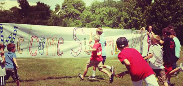 welcome summer banner