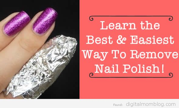 The Best Way to Remove Nail Polish