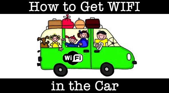 connect to wifi in the car