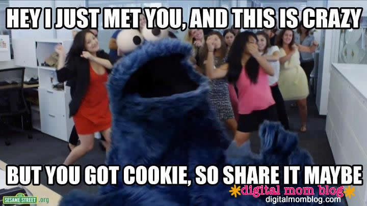 cookie monster spoofs call me maybe