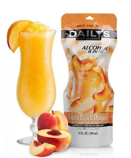 dailys peach daiquiri