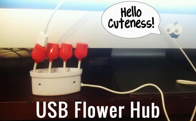 flower usb hub