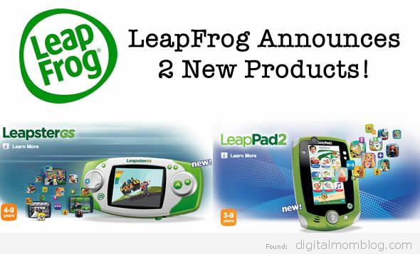 new leapfrog products Leapster GS and LeapPad 2 announced