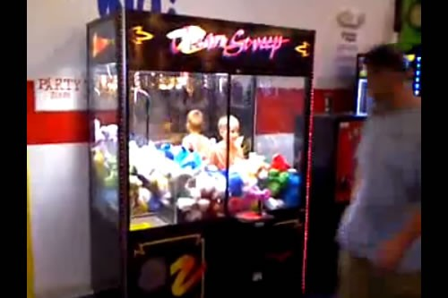 Watch Your Child Around Claw Machines!