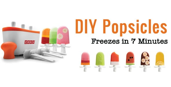 Cool Tech – Make Your Own Ice Pops with Zoku