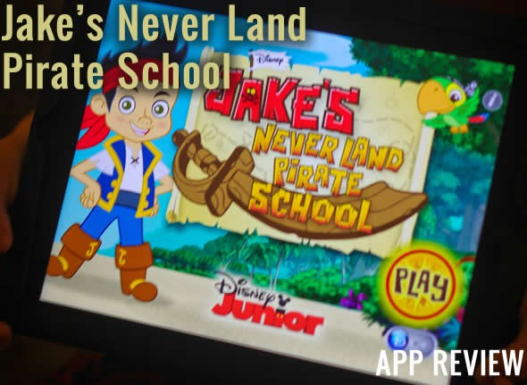 Jake's Never Land Pirate School App Review