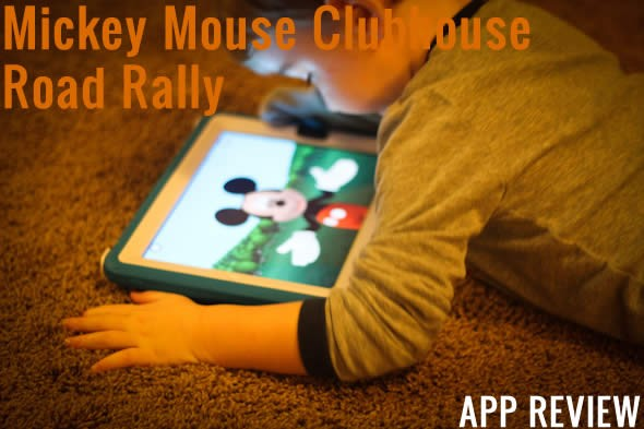 Mickey Mouse Clubhouse Road Rally App Review