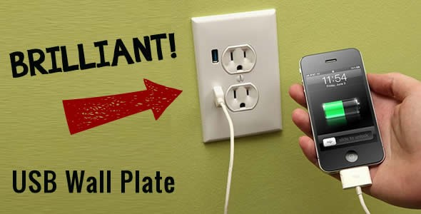 Cool Thursday Tech – USB Wall Plug