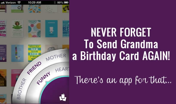 birthday card app
