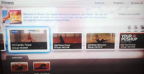 fitness tv workouts