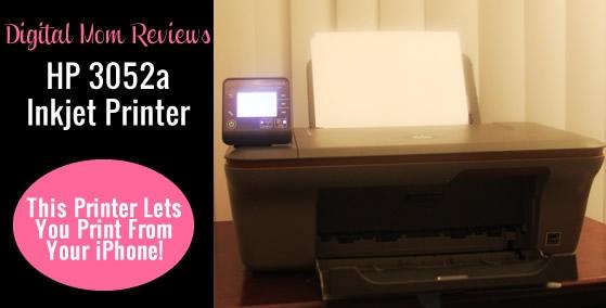 Digital Mom Printer Review – HP 3052A