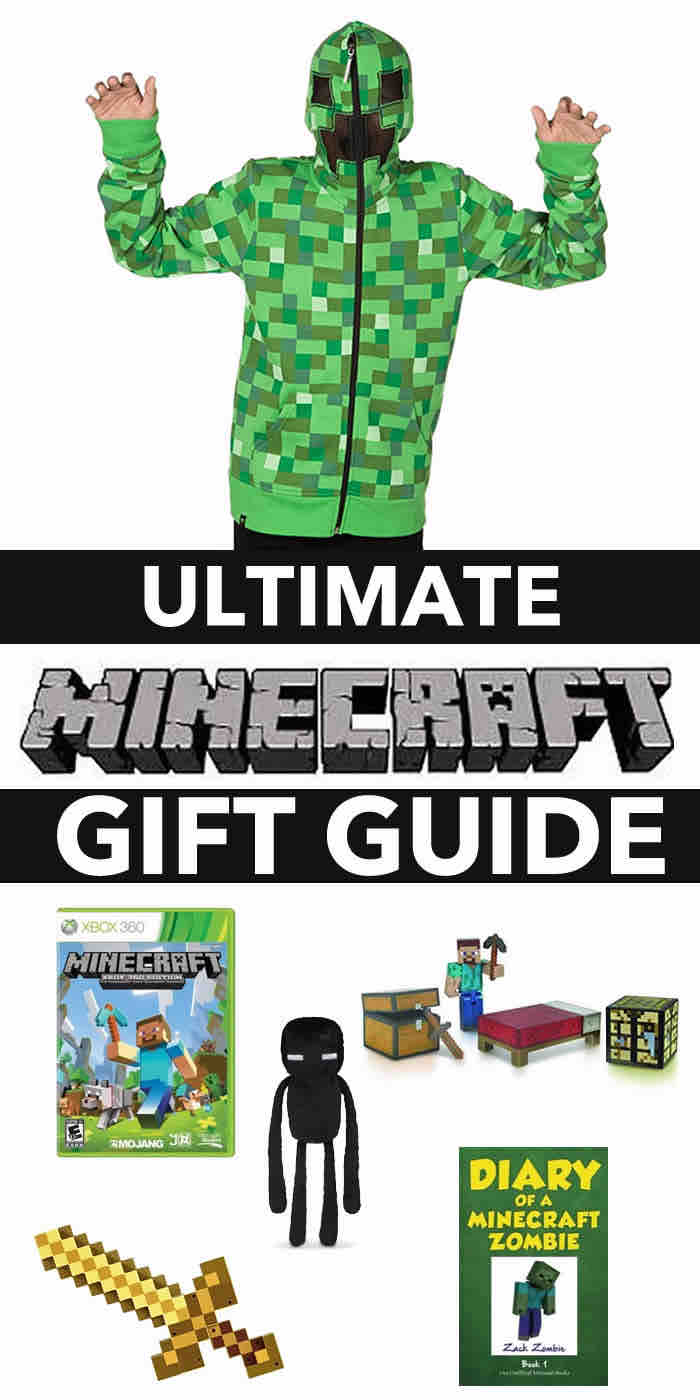 ultimate minecraft gift – gift guide hoodie green game sword