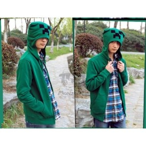 minecraft hoodie