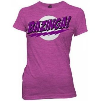 bazinga big bang theory shirt