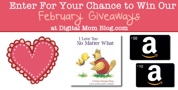 February Giveaway – Amazon Gift Cards and More!