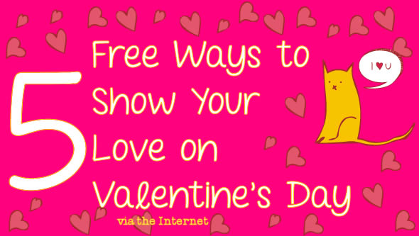 5 Ways to Show Your Love Online for Valentine's Day