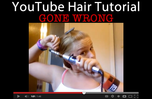 Best YouTube Hair Tutorial FAIL!
