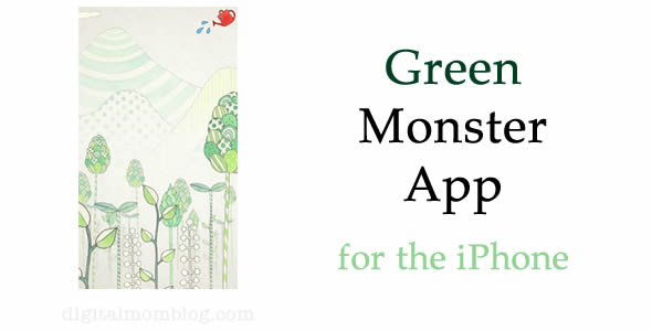 Green Monster App for Kids