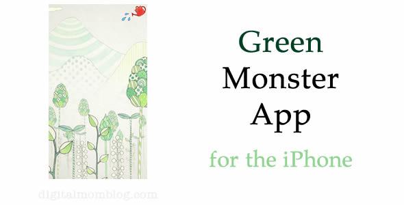 green monster app for kids