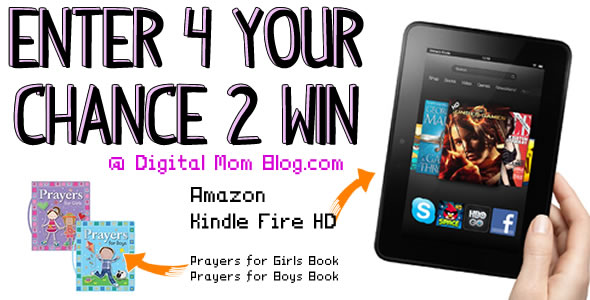 Amazon Kindle Fire HD Giveaway and More!