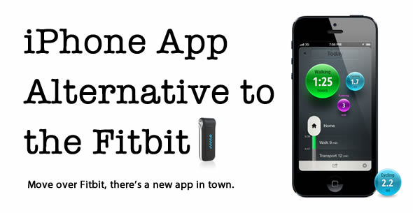 A Fitbit Alternative – Moves iPhone App