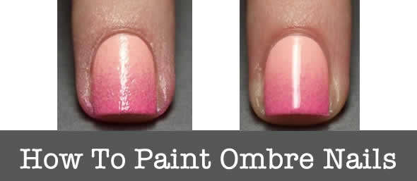 How to Paint Your Nails Ombre
