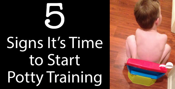 When to Start Potty Training - 5 Signs To Watch For