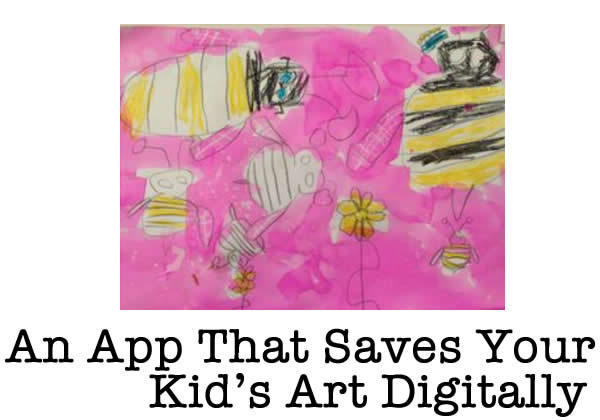 Keep Your Kids Drawings Forever With the Artkive App