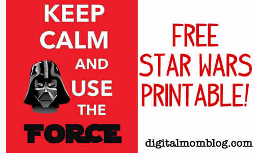 Free Star Wars Printable – Star Wars Day