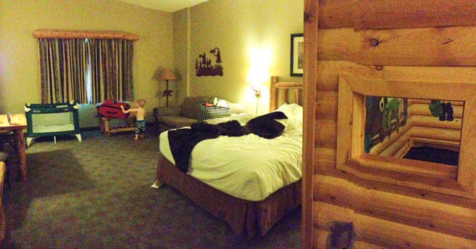 Kids Cabin Suite at Great Wolf Lodge Grapevine
