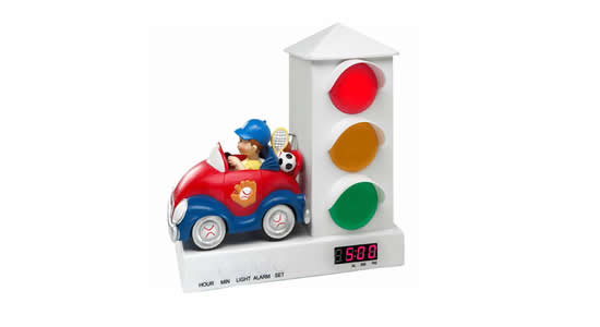 Stoplight Sleep Toddler Alarm Clock