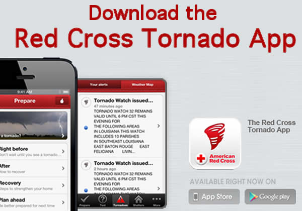 tornado warning app from red cross